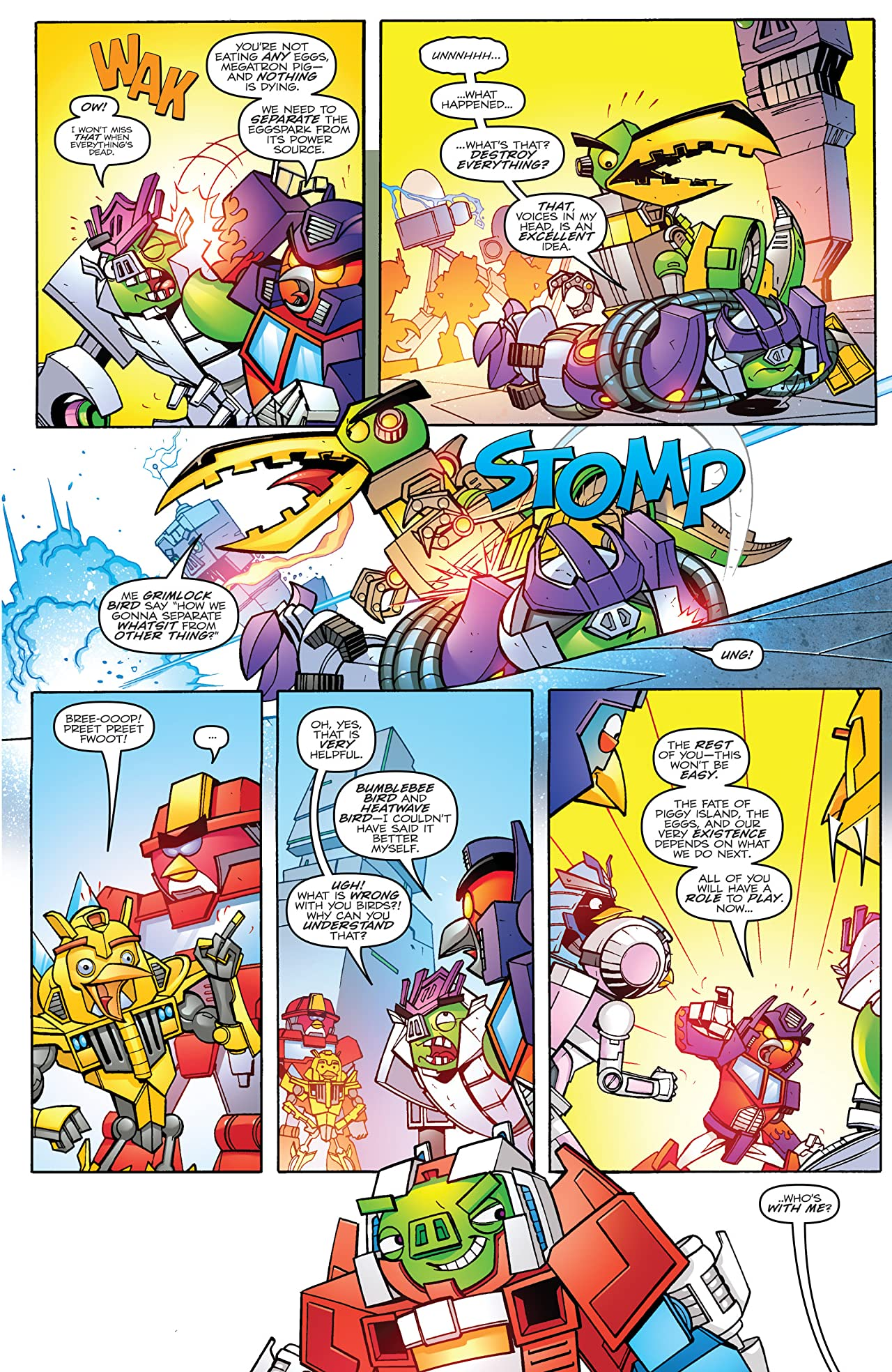 Angry Birds/Transformers #4 (of 4)