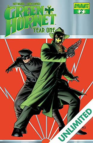 Green Hornet: Year One #2
