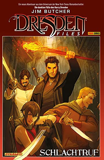 Jim Butcher: Dresden Files Vol. 1: Schlachtruf