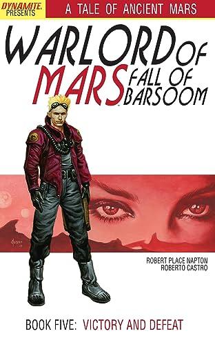 Warlord of Mars: Fall of Barsoom #5 (of 5)