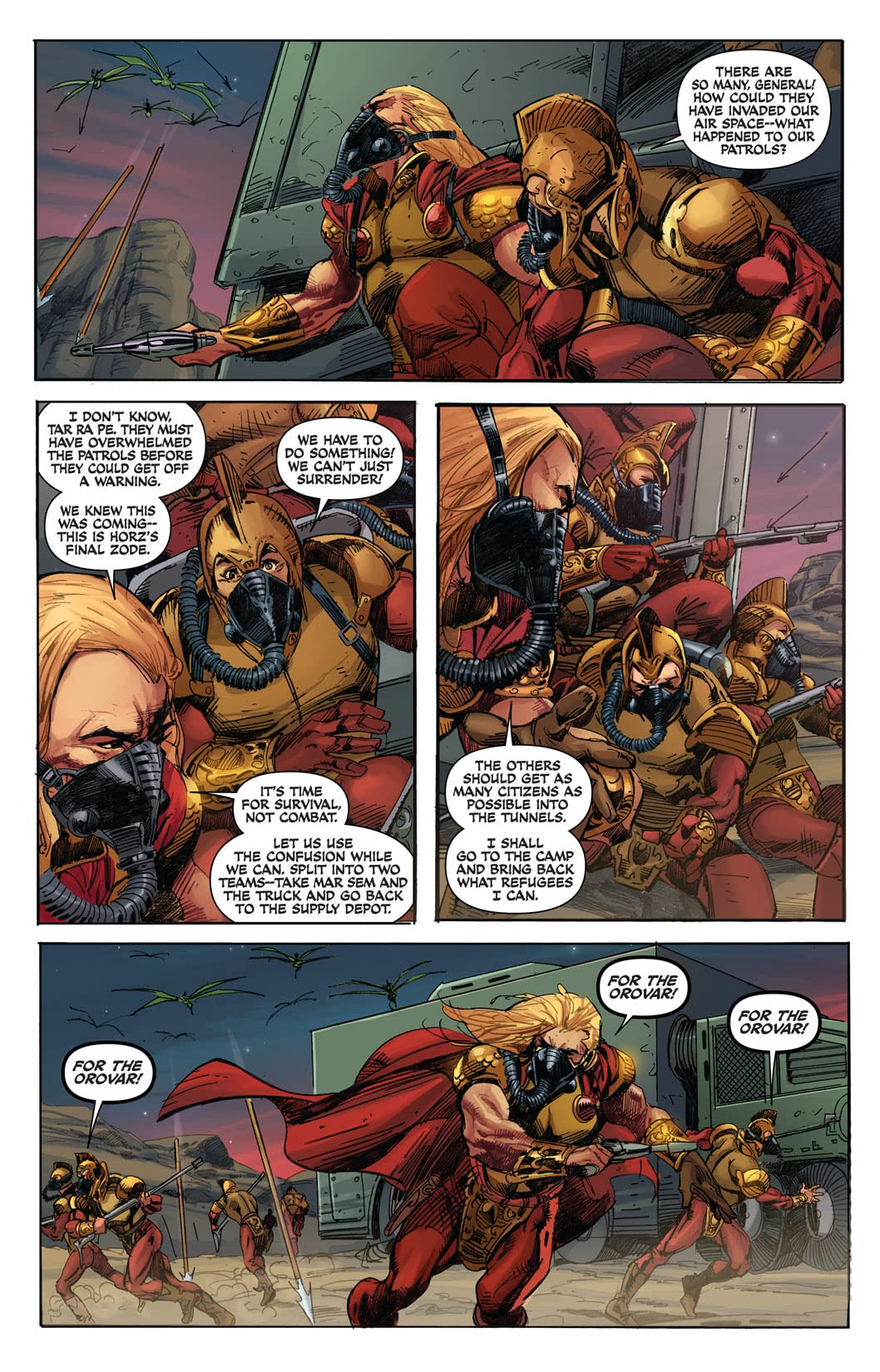 Warlord of Mars: Fall of Barsoom #5 (of 5)