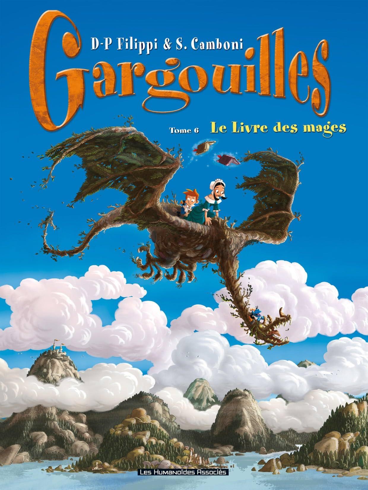 Gargouilles Vol. 6: Le Livre des Mages