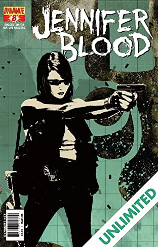 Garth Ennis' Jennifer Blood #8