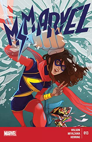 Ms. Marvel (2014-2015) #13