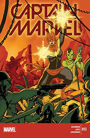 Captain Marvel (2014-2015) No.13