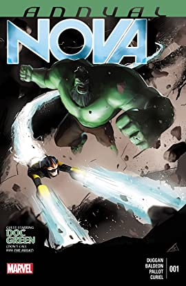 Nova (2013-2015) Annual #1