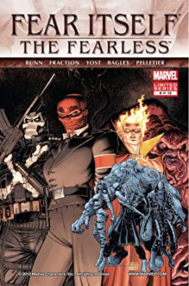 Fear Itself: The Fearless #8 (of 12)