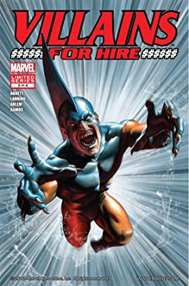 Villains For Hire (2011-2012) #3 (of 4)