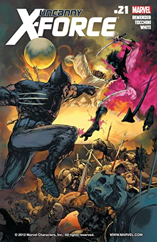 Uncanny X-Force (2010-2012) No.21