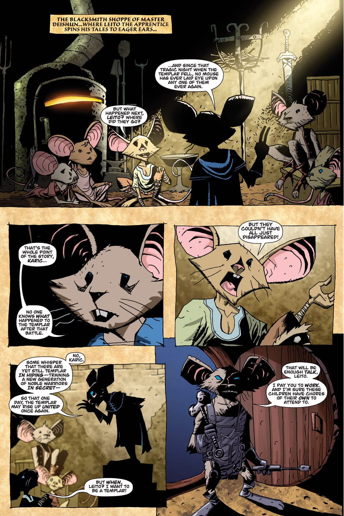 The Mice Templar Vol. 1 #1