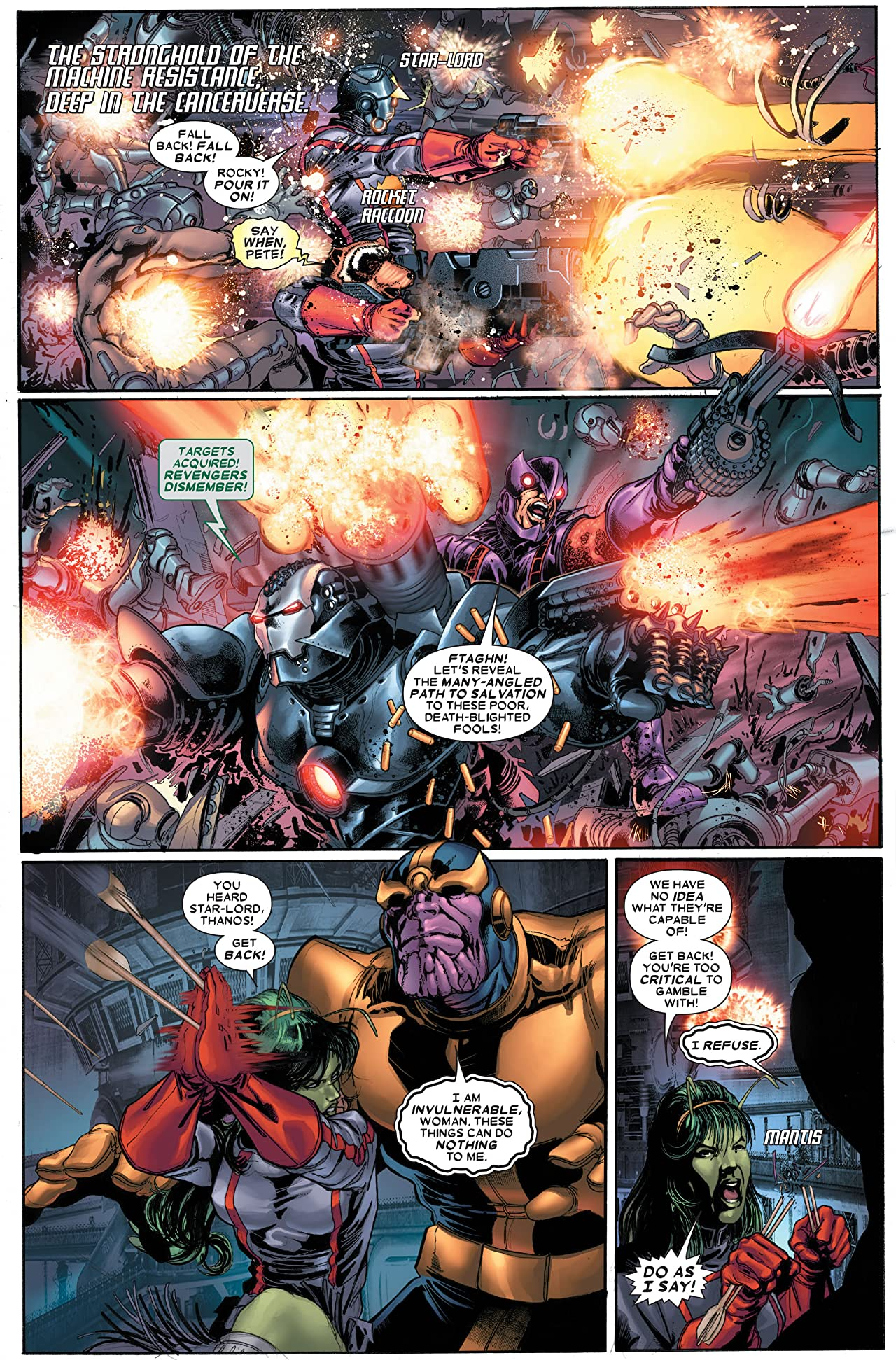 The Thanos Imperative #5 (of 6)