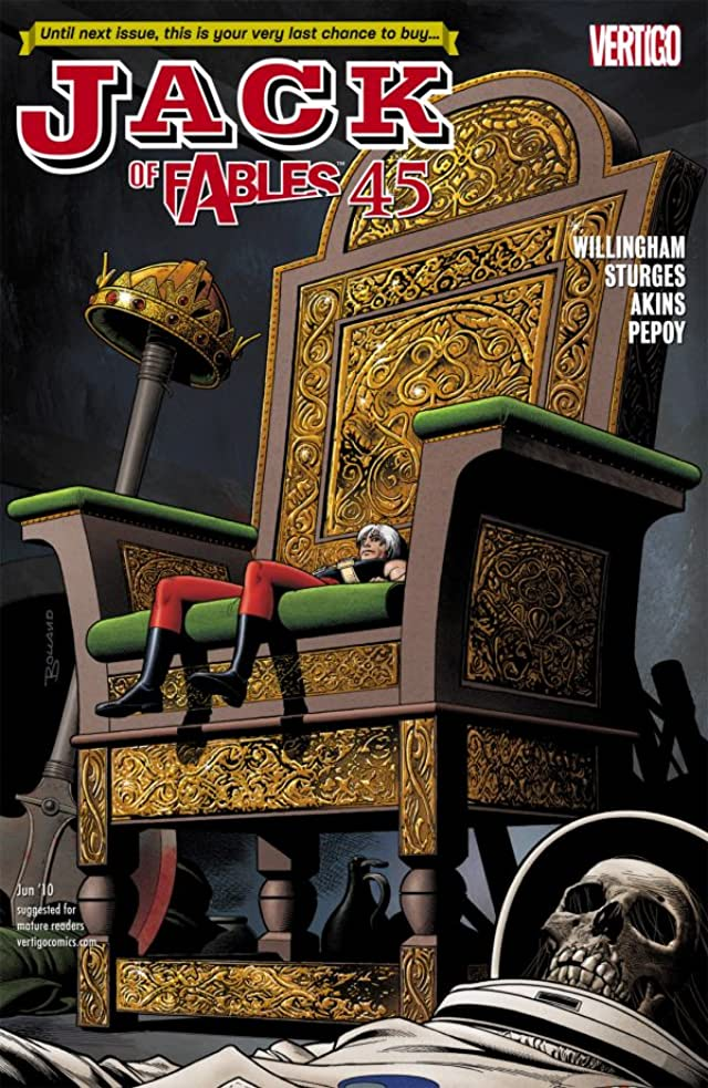 Jack of Fables #45