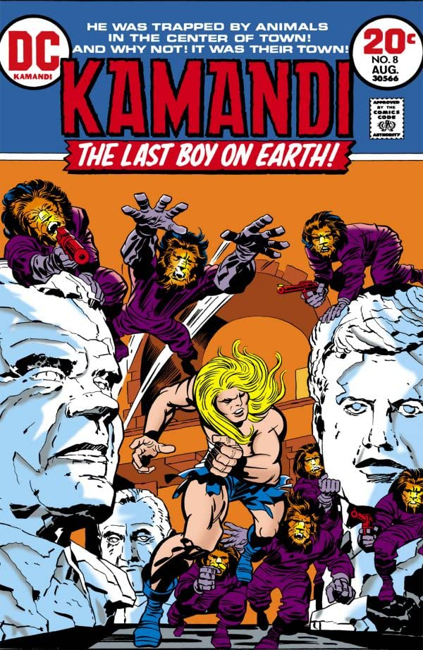 Kamandi: The Last Boy on Earth (1971-1978) #8