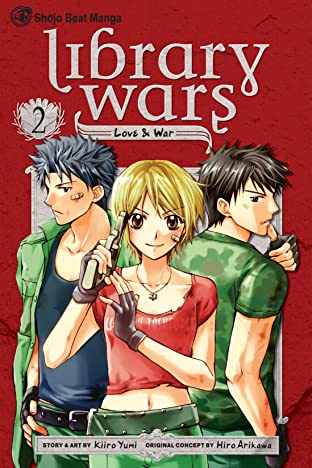 Library Wars: Love & War Vol. 2