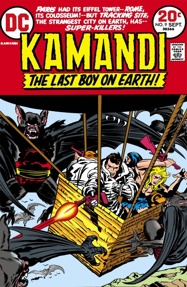 Kamandi: The Last Boy on Earth (1971-1978) #9