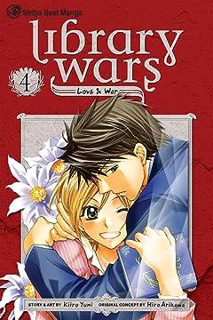Library Wars: Love & War Vol. 4