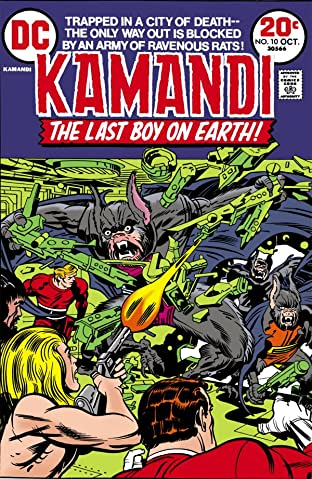Kamandi: The Last Boy on Earth (1971-1978) #10