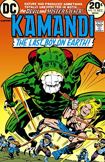 Kamandi: The Last Boy on Earth (1971-1978) #12