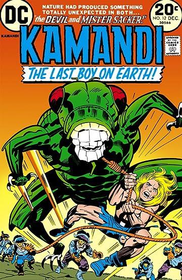 Kamandi: The Last Boy on Earth (1971-1978) #12