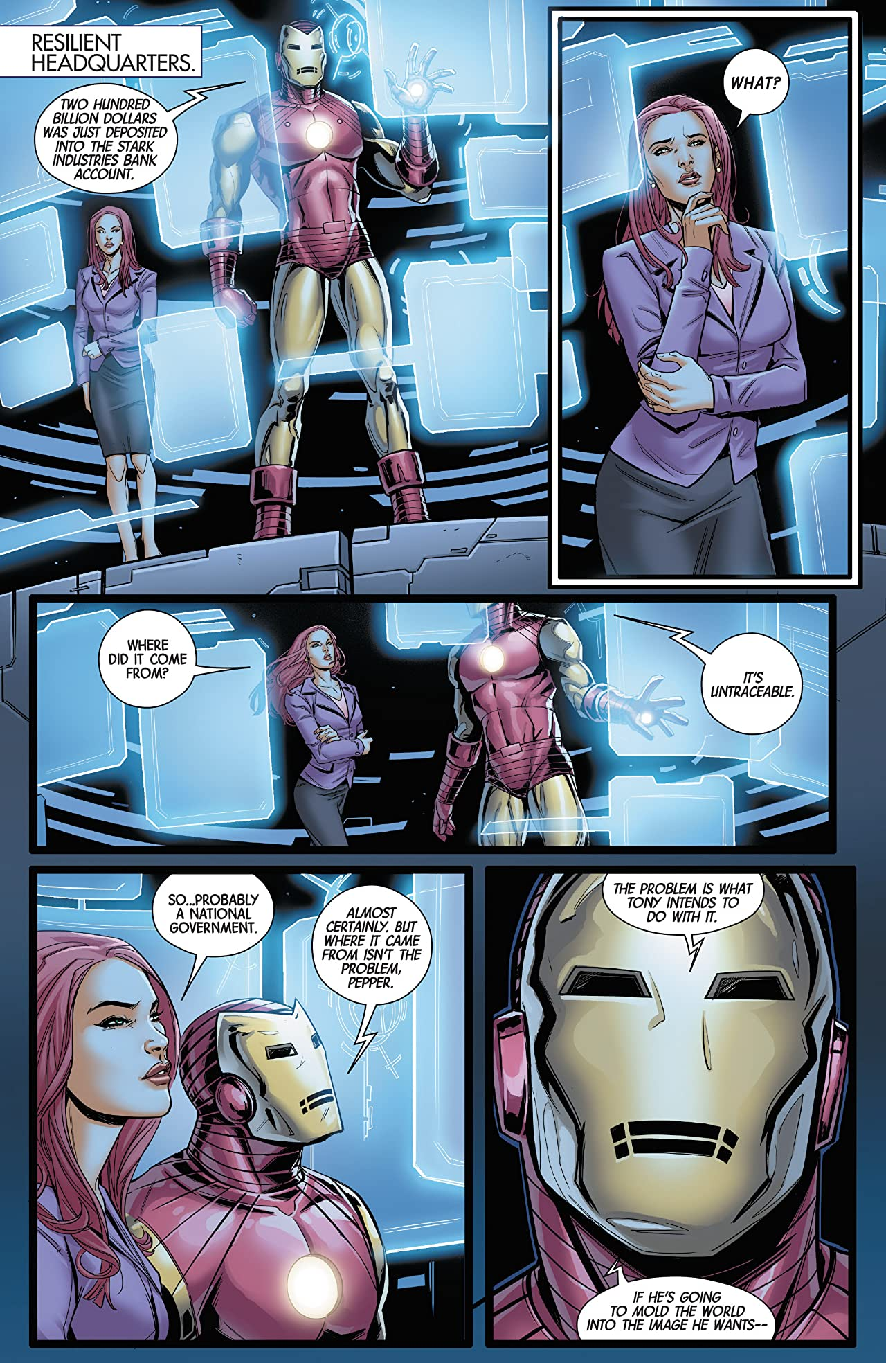Superior Iron Man (2014-2015) #6
