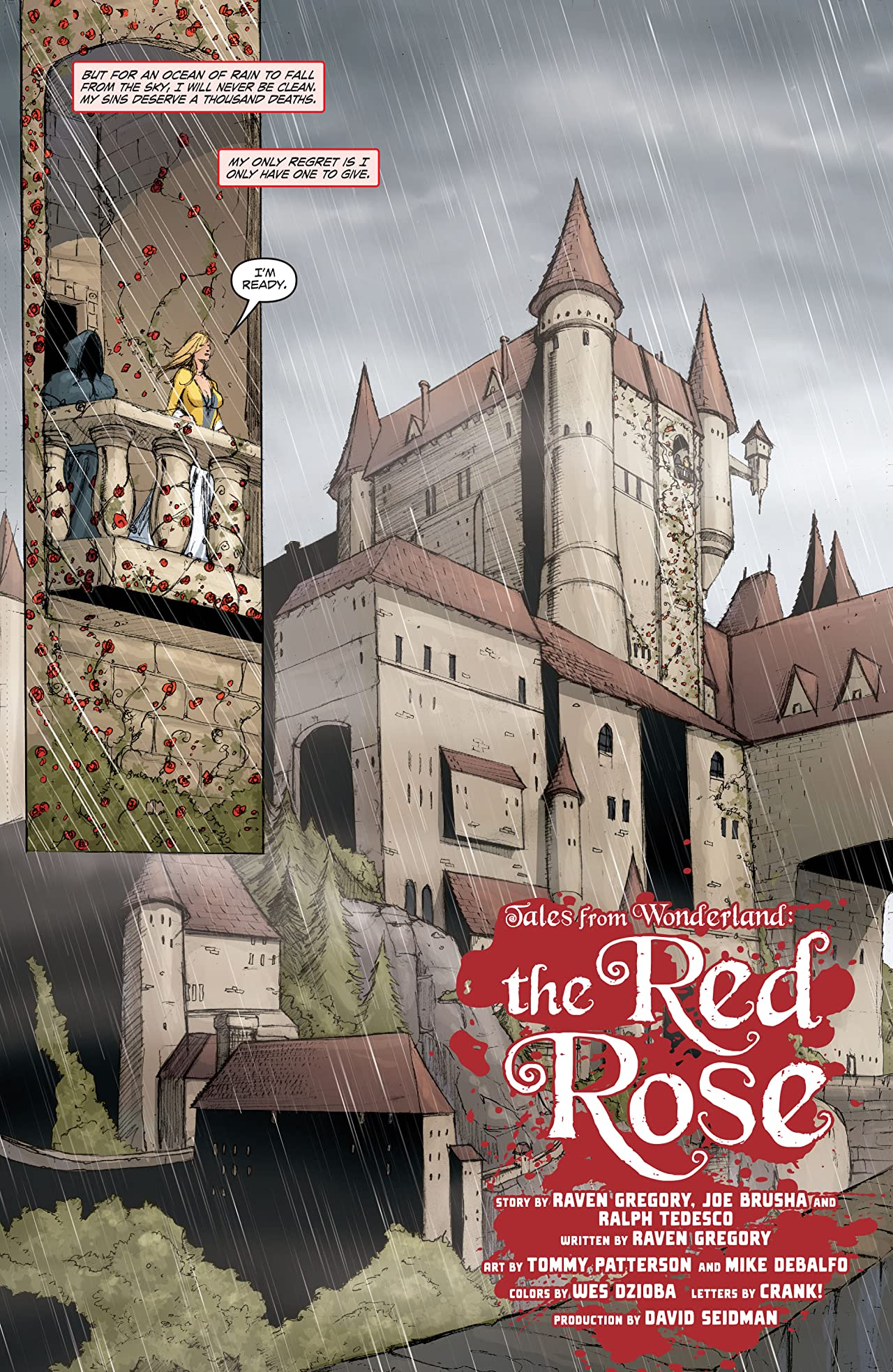 Tales From Wonderland: Red Rose