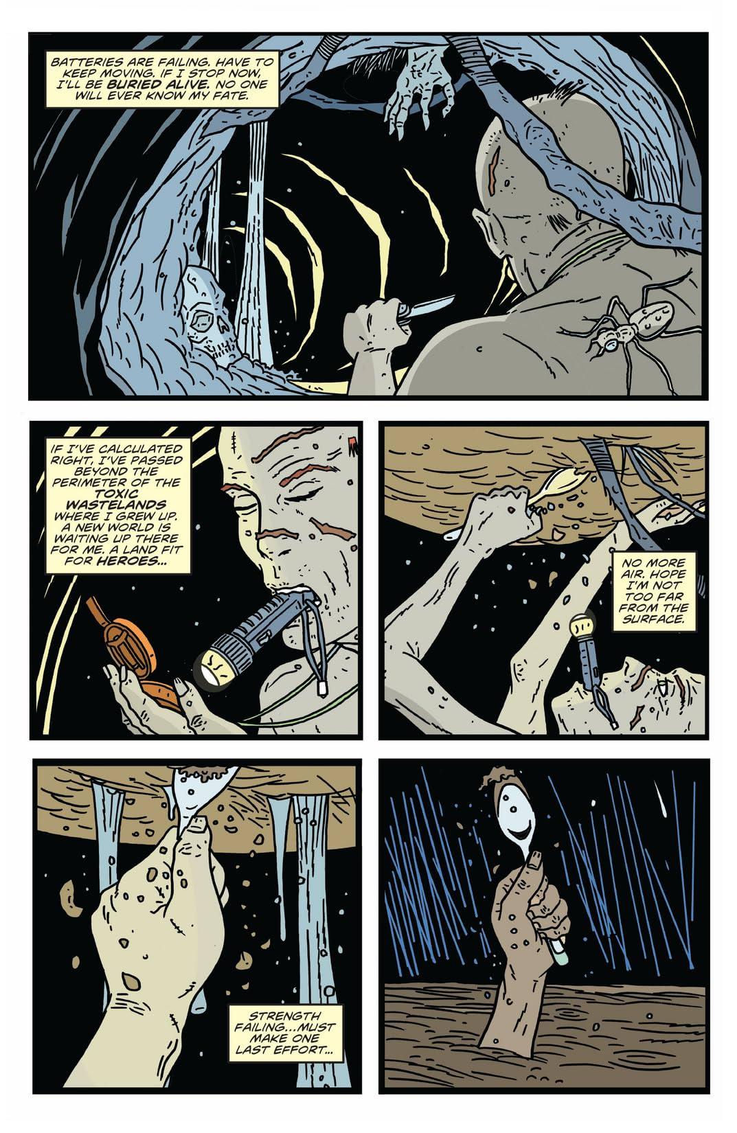The Bulletproof Coffin: Disinterred #1 (of 6)