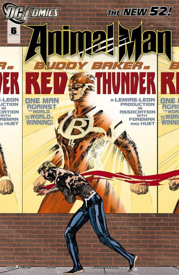 Animal Man (2011-2014) #6