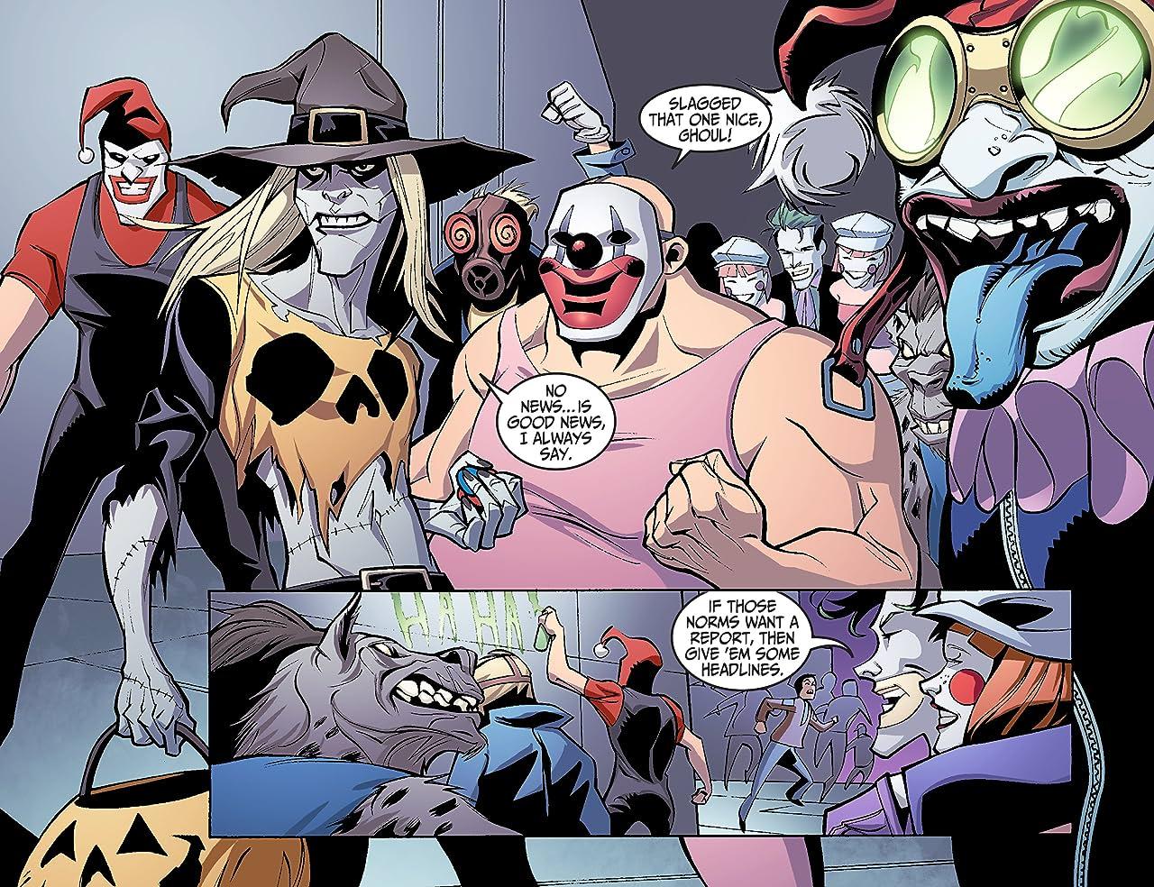 Justice League Beyond (2012-2013) #1