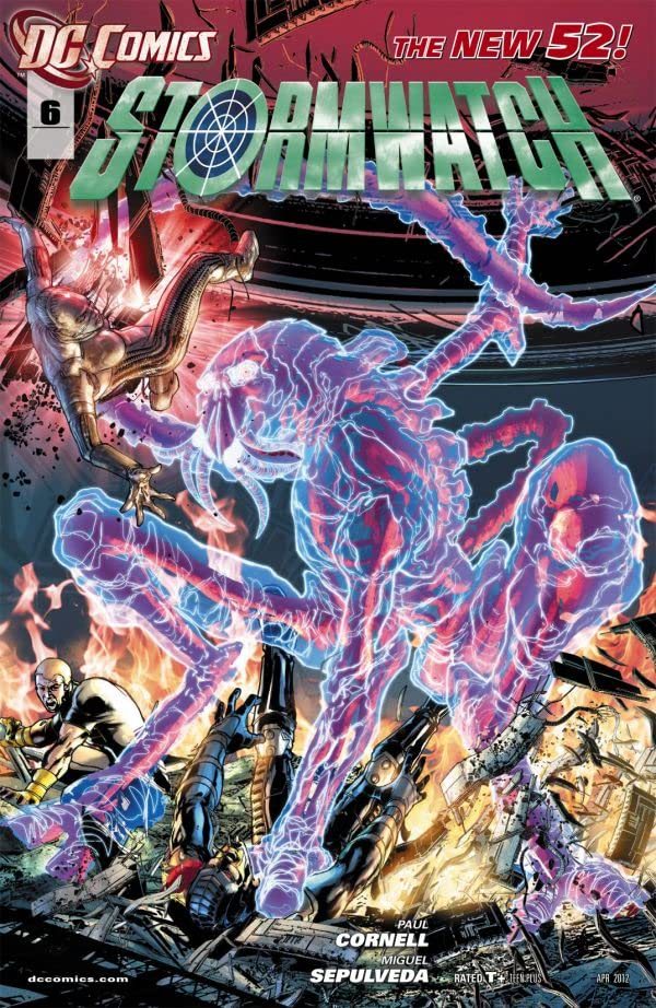 Stormwatch (2011-2014) #6