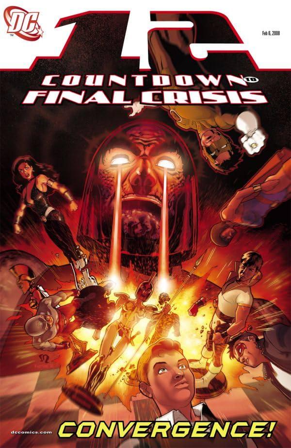 Countdown to Final Crisis #12