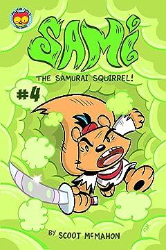 Sami the Samurai Squirrel #4