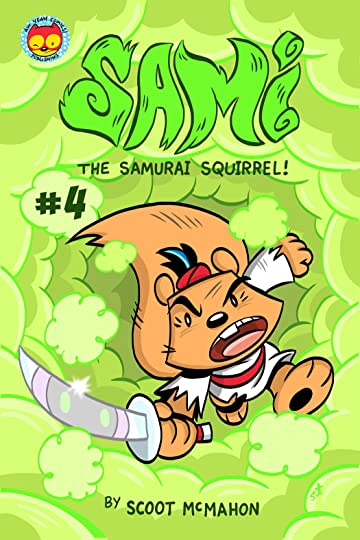 Sami the Samurai Squirrel #4