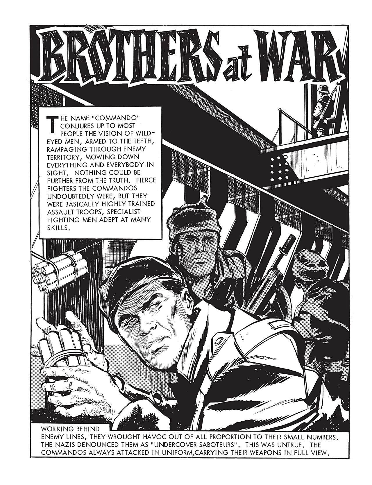 Commando #4784: Brothers at War
