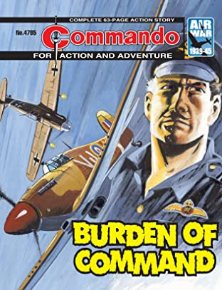 Commando #4785: Burden of Command