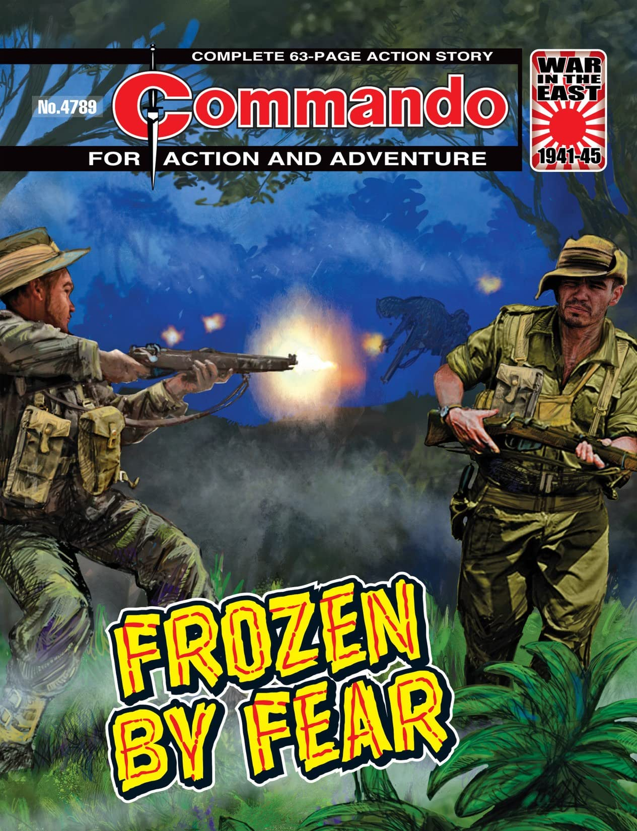 Commando #4789: Frozen By Fear