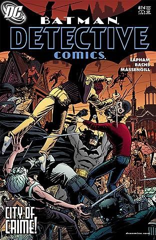Detective Comics (1937-2011) #814