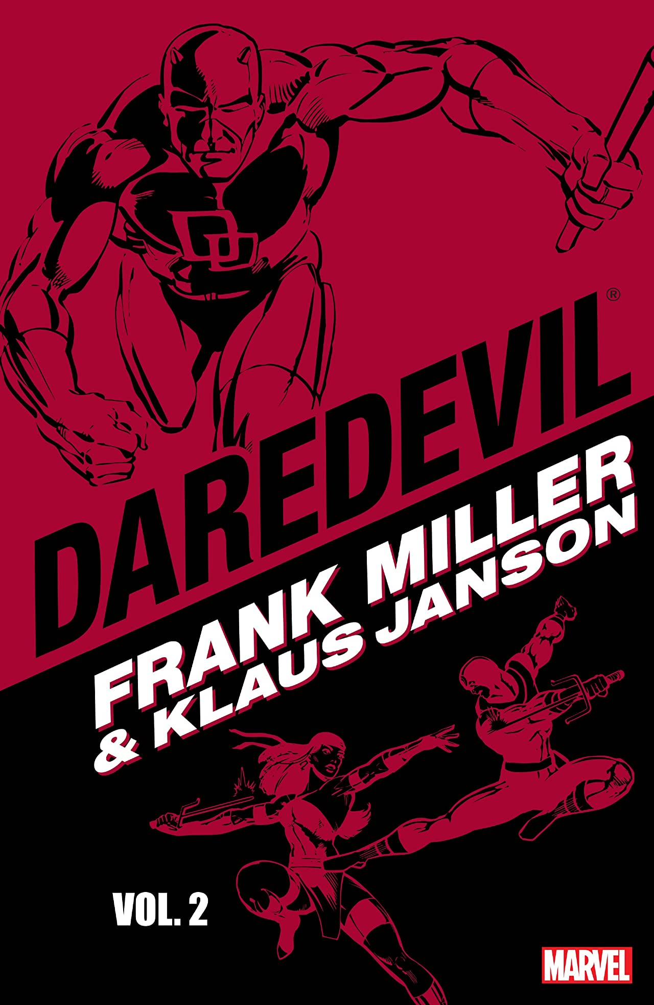 Daredevil by Frank Miller and Klaus Janson Vol. 2