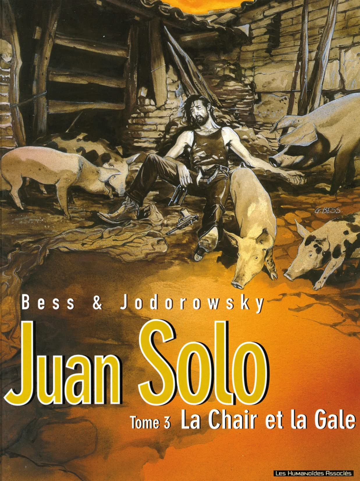 Juan Solo Vol. 3: La Chair et la gale
