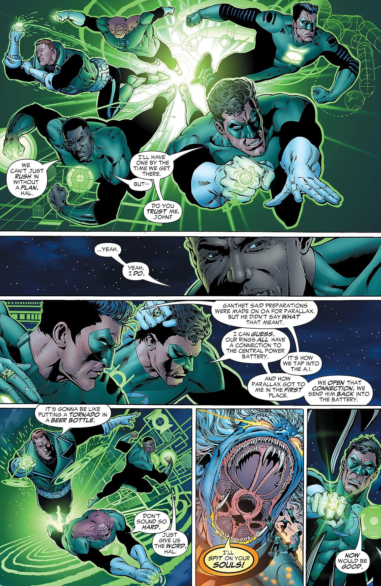 Green Lantern: Rebirth #6