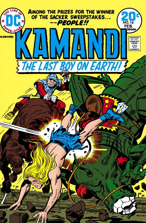 Kamandi: The Last Boy on Earth (1971-1978) #14