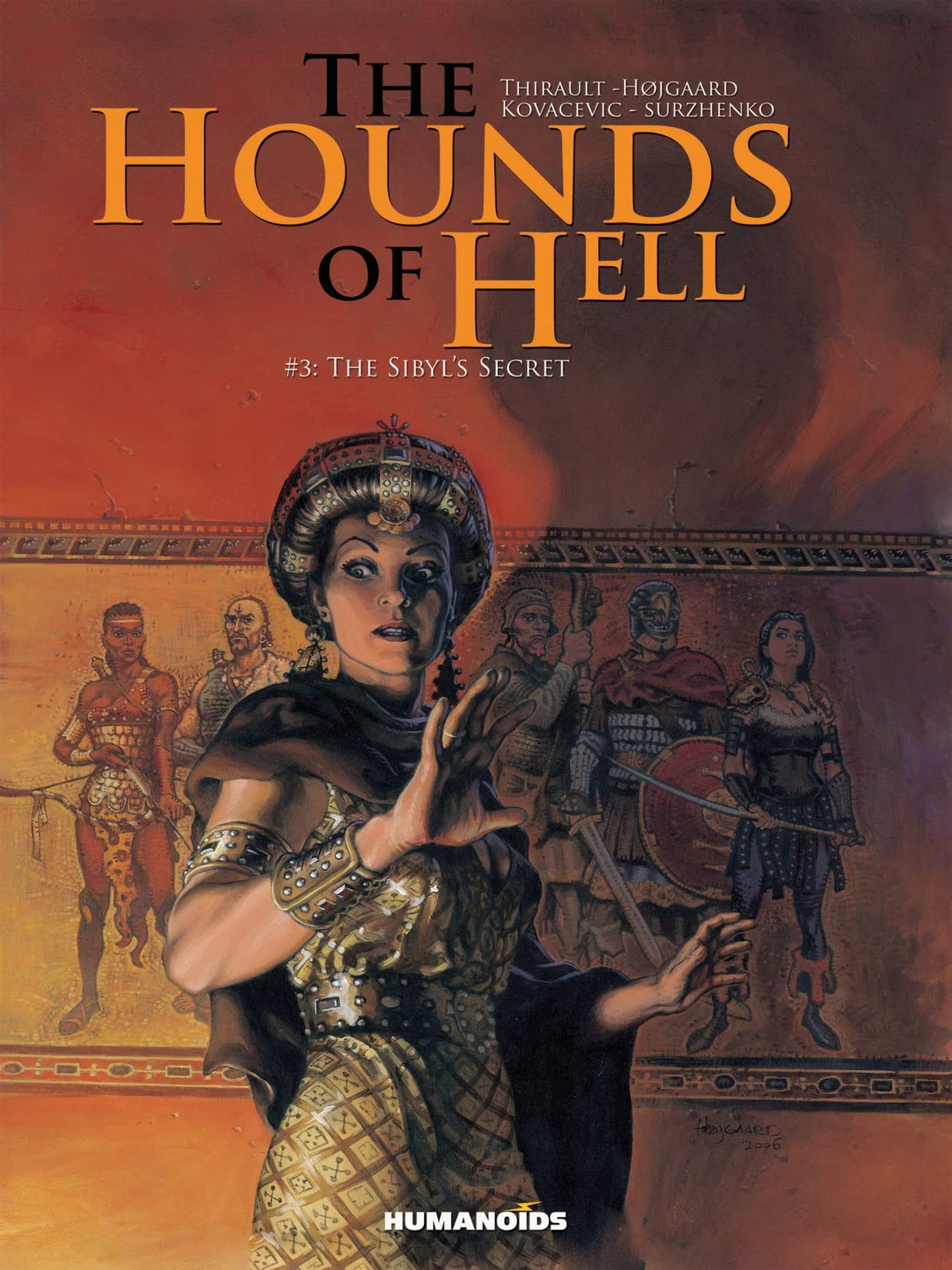 The Hounds of Hell Vol. 3: The Sibyl's Secret