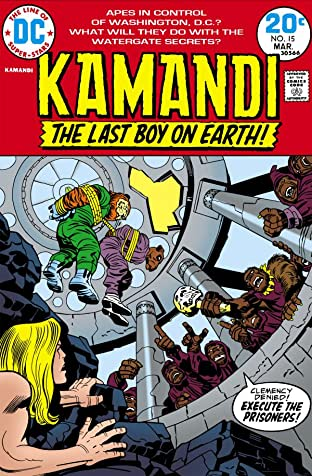 Kamandi: The Last Boy on Earth (1971-1978) #15