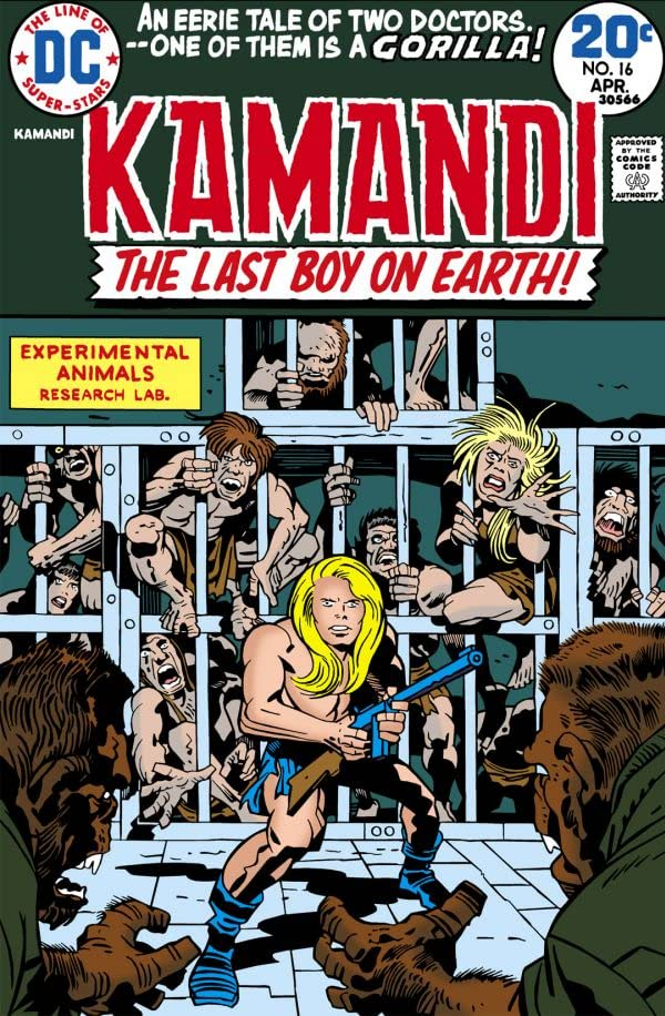 Kamandi: The Last Boy on Earth (1971-1978) #16