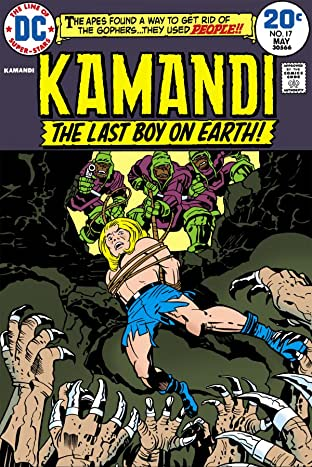 Kamandi: The Last Boy on Earth (1971-1978) #17