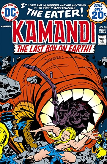 Kamandi: The Last Boy on Earth (1971-1978) #18