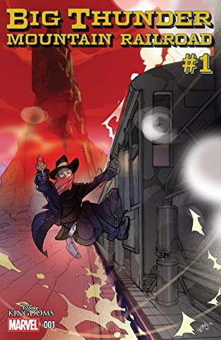 Big Thunder Mountain Railroad #1 (of 5)