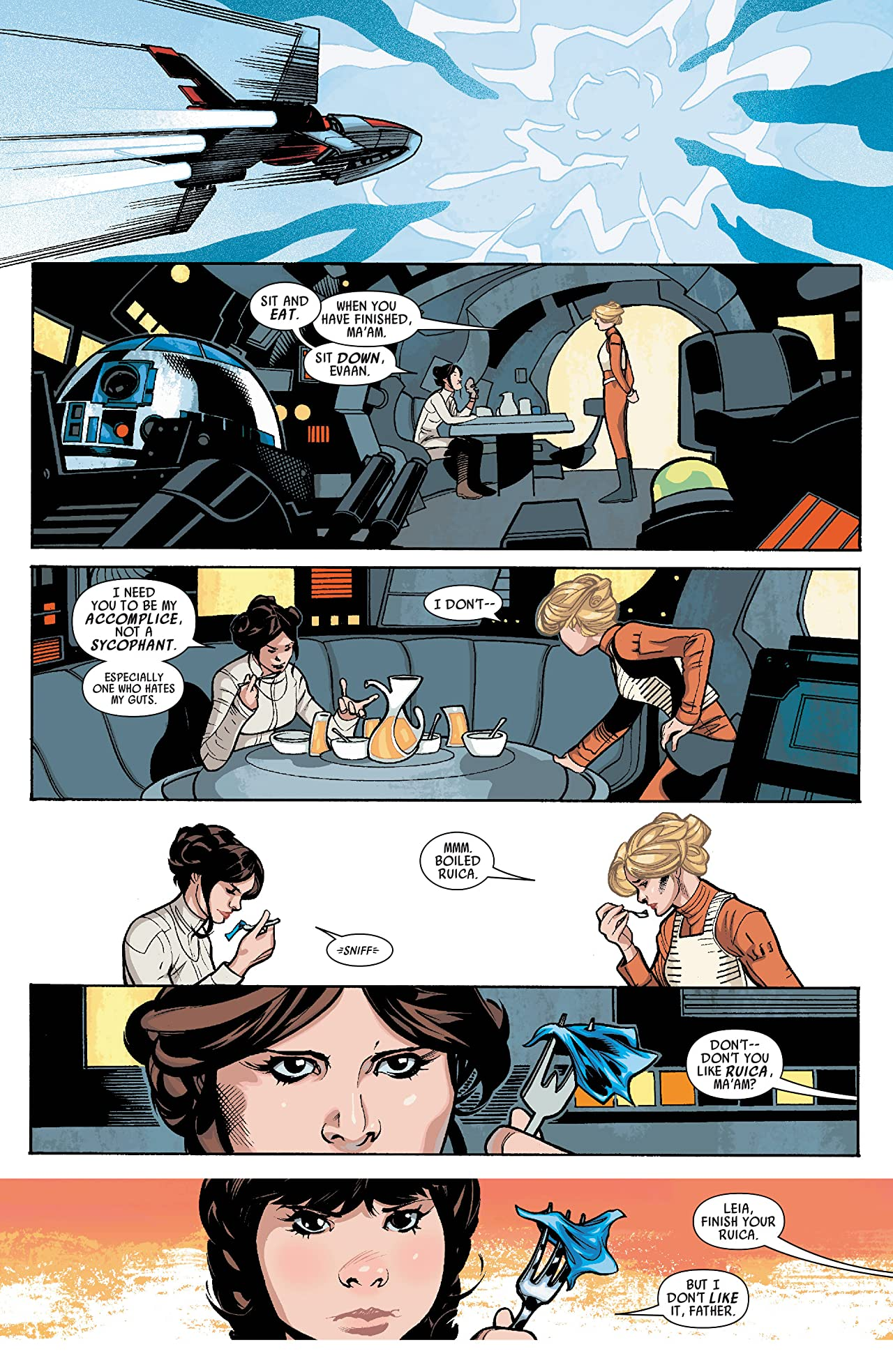 Princess Leia (2015) #2 (of 5)