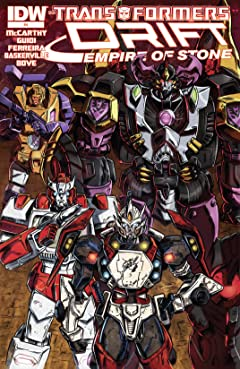 Transformers: Drift: Empire of Stone #4 (of 4)
