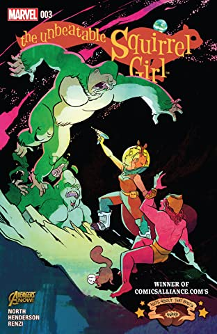 The Unbeatable Squirrel Girl (2015) No.3
