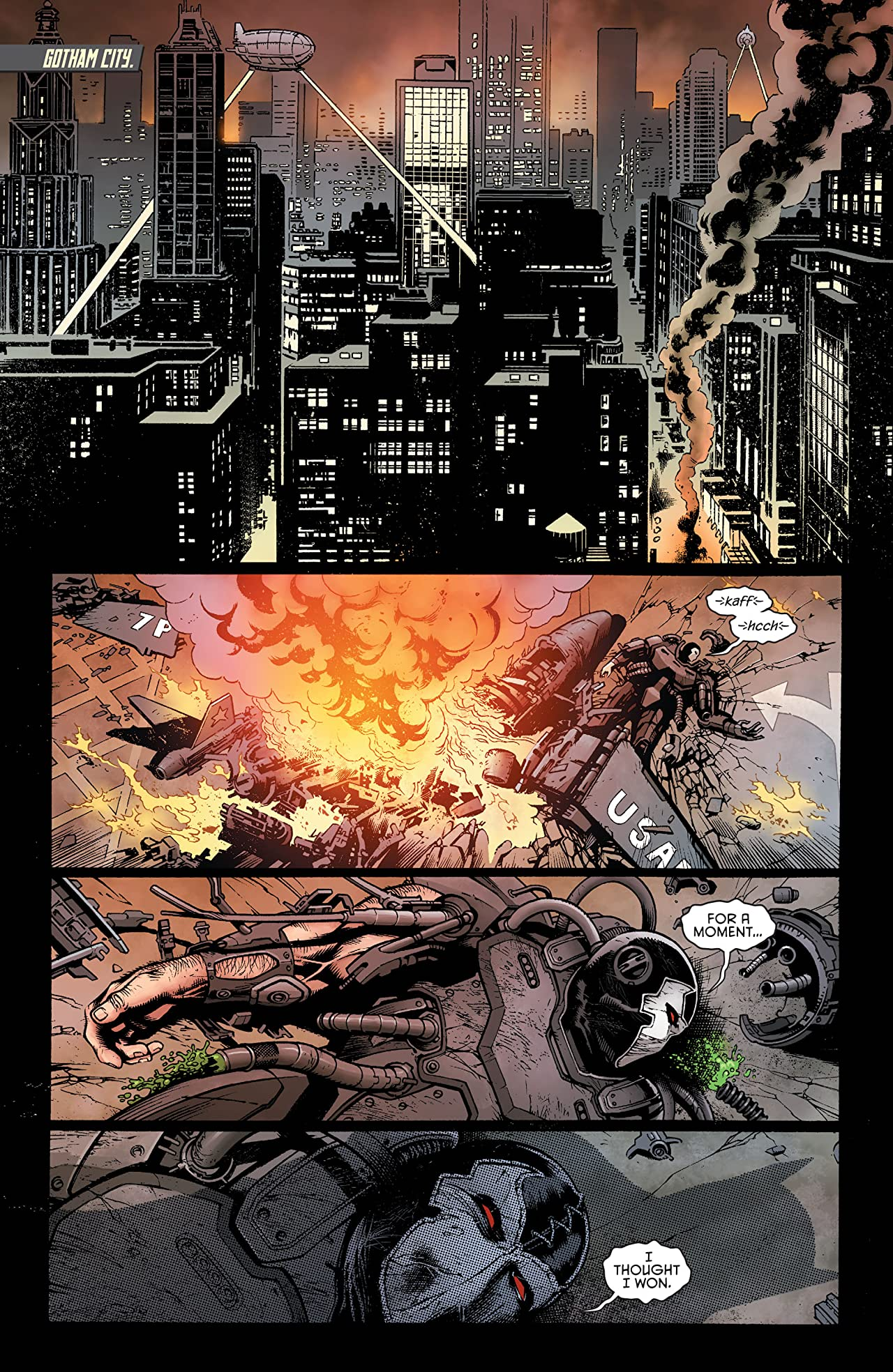 Batman Eternal (2014-2015) #50